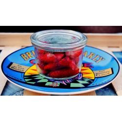 fraises gariguettes et sa feuille de menthe
