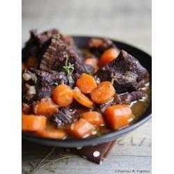 Daube de bœuf, carottes