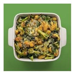 gratin de brocolis aux gnocchis