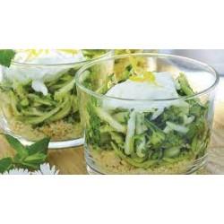 salade de crevettes avocat et mangue