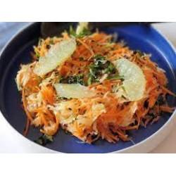 salade de carottes féta huile de sésame